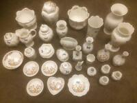31 pieces of Aynsley China