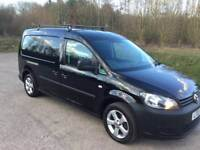 V W Caddy Maxi 1.6tdi stop start technology 2012 with extra seats