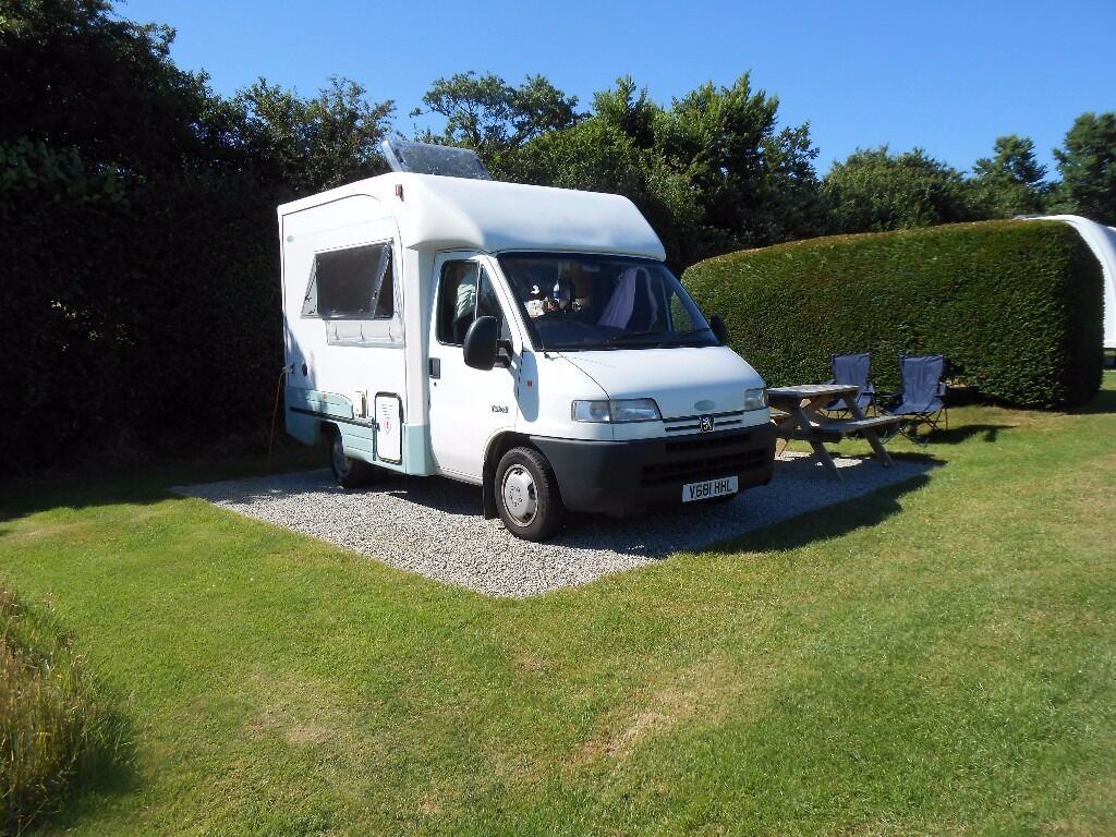 autocruise vista 2000 motorhome 1 9 td peugeot boxer 2 berth 1999 v rh drive excellent condition. Black Bedroom Furniture Sets. Home Design Ideas