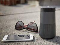 New Sealed Bose SoundLink Revolve Bluetooth Speaker - Triple Black