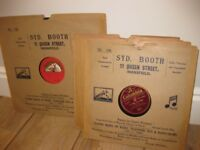 Small Record Collection of old 78rpm records. Tibbett, Crooks, Gracie Fields.