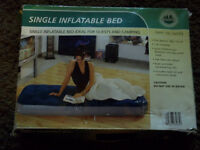 ADVENTURE RIDGE AIR BED SINGLE UNUSED BNIB