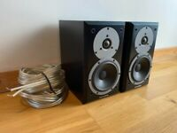 Dynaudio 'audiophile' bookshelf speakers + cable