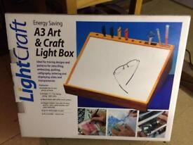 A3 lightbox for drawing/tracing/craft