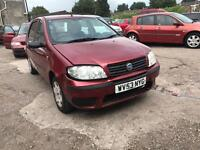 FIAT PUNTO ACTIVE 8V RED PETROL 1242CC 60BHP NATIONWIDE DELIVERY *BARGAIN*