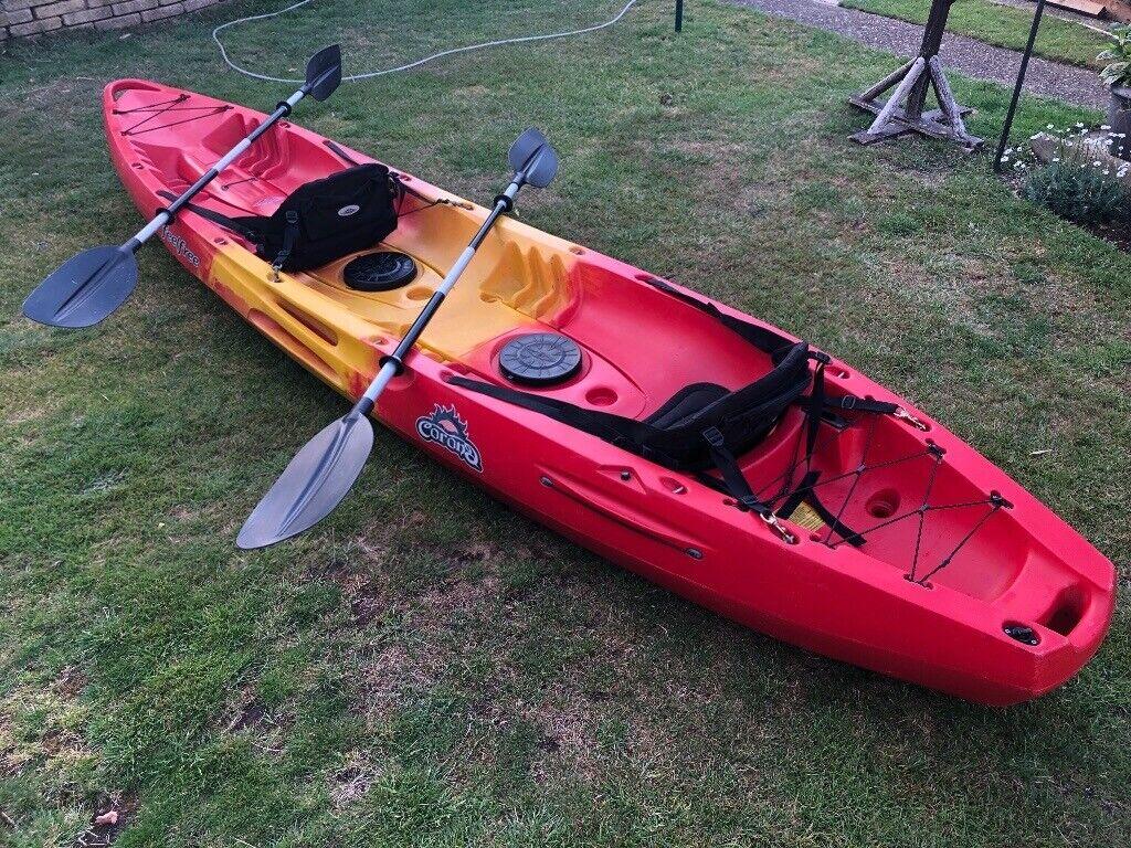 Kayak Feel Free Corona package sit on top 2+1 seater | in Chelmsford, Essex  | Gumtree