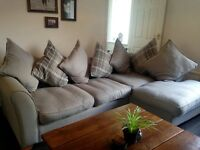 DFS Grey Corner Sofa ( 2 years old )