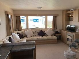 PRE OWNED CARAVAN FOR SALE. SEA VIEW PARK ON NORTHUMBERLAND COAST. PET FRIENDLY.
