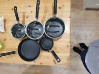 Tefal saucepans practically brand new