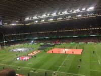 2x Wales v France Tickets