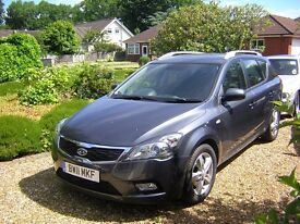 Kia Cee'd automatic estate, 2011, LPG, immaculate, FSH