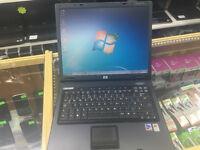 "HP COMPAQ NC6120 LAPTOP. WIN 7 . DVD.RW. MS OFFICE.14.1"""