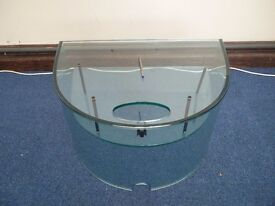 A great small glass coffee table