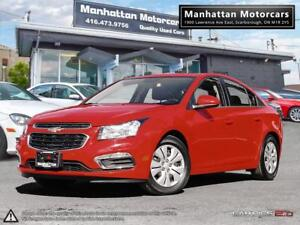 2015 CHEVROLET CRUZE LT AUTO |ROOF|PHONE|CAMERA|WARRANTY|29000KM