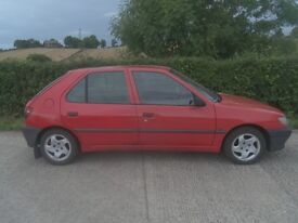Peugeot 306 Diesel motd end Dec needs to go taking up room