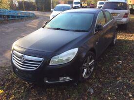 Vauxhall Insignia Hatchback (2008 - 2014) MK 1 2.0 CDTi 16v SRi 5dr black indicator breaking