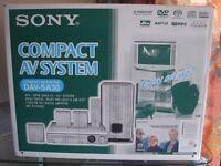 Sony DVD Home Cinema System (Silver)