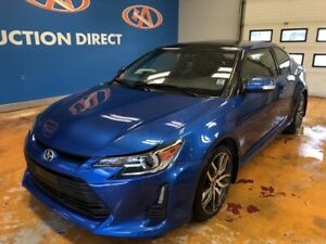 2014 Scion tC MANUAL/ LEATHER/ SUNROOF/ BLUETOOTH!
