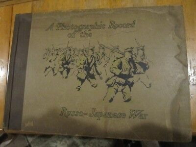 Rare Photographic Record Of The Russo Japanese War 1905 Collier J H  Hare 1St