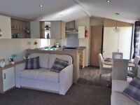 Luxury Static Caravan in Borth. Next to Beach, West Wales. Decking & Sea Views Available!