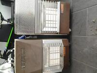 x2 heaters for sale with gas bottles 40 the pair.