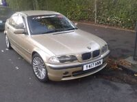 2001 BMW 320D M SPORT DRIVES PERFECT SERVICE HISTORY MECHANICALLY PERFECT