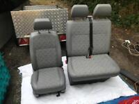 VW T5.1 GP front comfort seat and twin