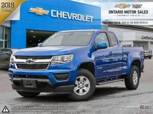 2018 Chevrolet Colorado WT 2WD / Appearance Package / Chrome...