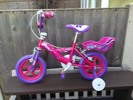 Bicycle for girls age 3-7 yrs