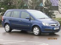 VAUXHALL ZAFIRA LIFE 1.8 PETROL 7 SEATS 92K LONG MOT TIMING BELT DONE VERY CLEAN