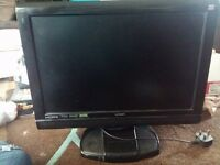 22 Inch HD Logik LCD TV with builtin DVD player with Remote