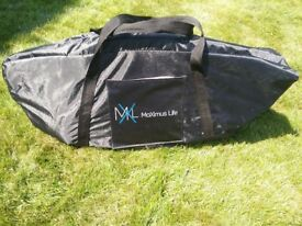 Folding Maximus Pro Rebounder mini trampoline