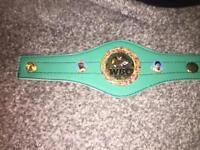 WBC bracelet mini belt boxing title not gloves