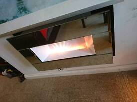 Mirrored electric fireplace 1 or 2 for £110 ono