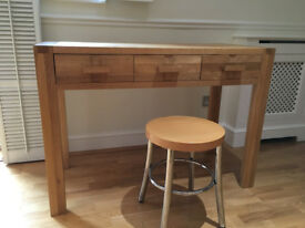 John Lewis Dressing Table made from solid oak