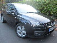 2007 57 FOCUS ZETEC CLIMATE 1.8 TDCI BLACK *2 OWNER* *CAMBELT DONE* 2.0 1.6 FORD MONDEO vw golf polo