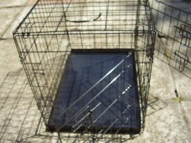 DOG CRATE IN EXCELLENT CONDITION