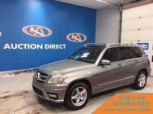 2012 Mercedes-Benz GLK-Class GLK350 4MATIC SUNROOF! FINANCE NOW!