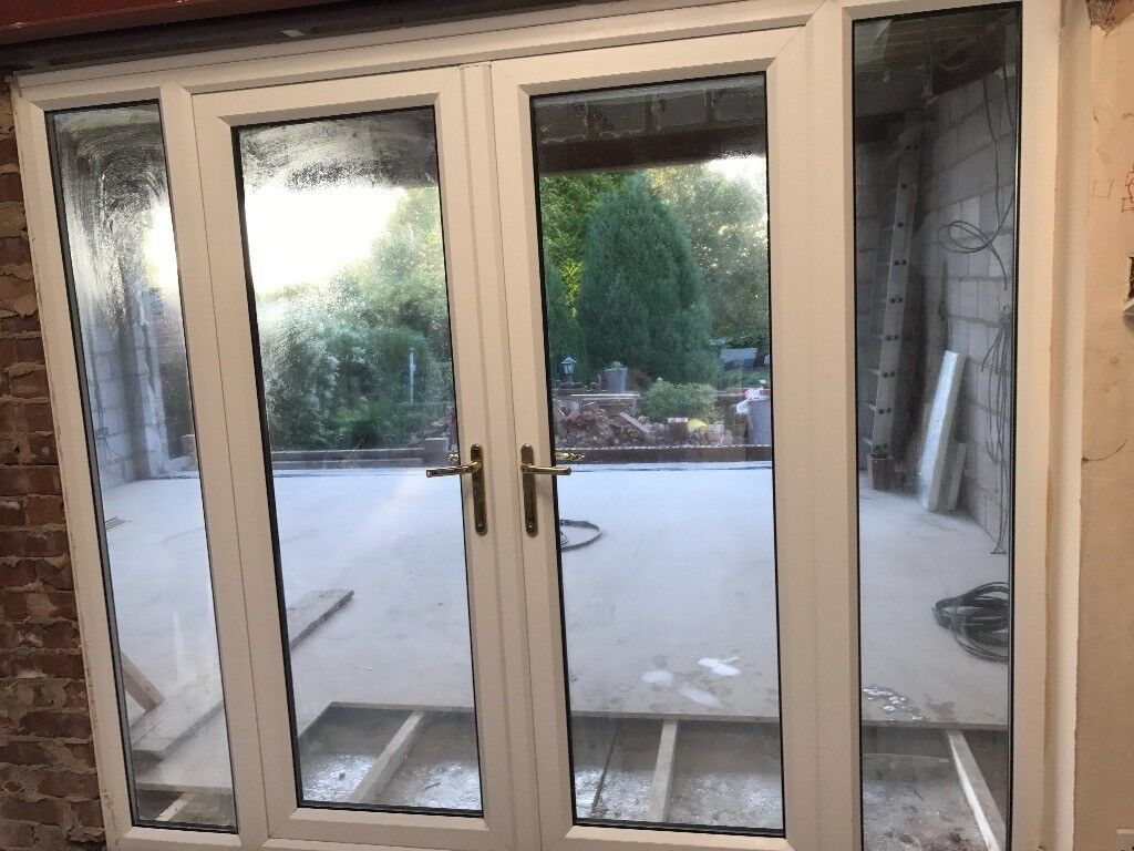 5ft French Doors With 2 Side Lights 8ft Total