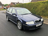 Skoda Octavia 1.9 TDi 110 BHP Laurin & Klement Edition Diesel Estate Manual Leather Seats Vectra