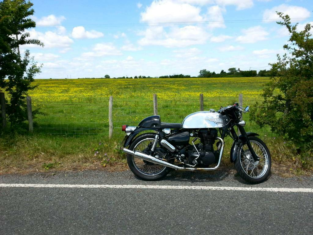 royal Enfield cafe racer | in Minster on Sea, Kent | Gumtree
