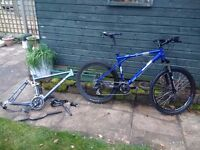 GT aggressor XC3 2011, Mountain bike, with other frame and spares, OFFERS, TRADES, REPAIRS