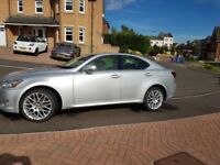 Low mileage lexus is220d full service history. Stand out original lexus alloys