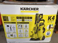 March K4 full control home pressure washer new never used for sale.