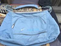 Ladies Nike sports shoulder bag blue used good condition £6
