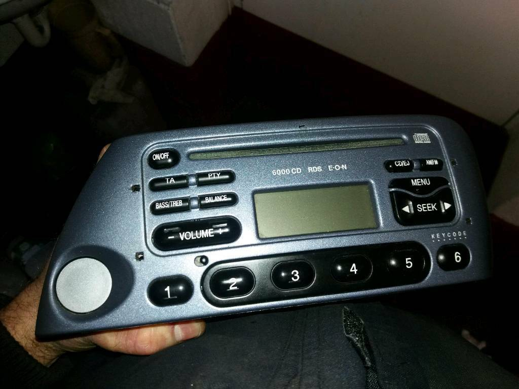 Ford Ka Radio Cd Player With Code