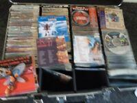 karaoke discs just over 600 all originals with case