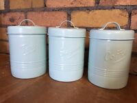 Canisters x 3