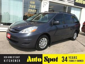 2007 Toyota Sienna CE/LOW, LOW KMS/PRICED FOR A QUICK SALE