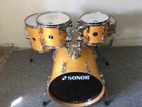 Sonor birch drum shell pack
